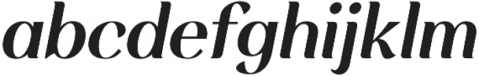 Rossanova Semi Bold Italic otf (600) Font LOWERCASE