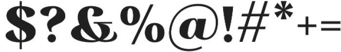 Rossanova Text Extra Bold otf (700) Font OTHER CHARS