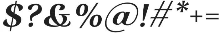 Rossanova Text Semi Bold Italic otf (600) Font OTHER CHARS