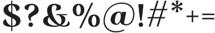 Rossanova Text Semi Bold otf (600) Font OTHER CHARS