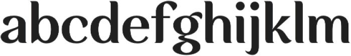 Rossanova Text Semi Bold otf (600) Font LOWERCASE