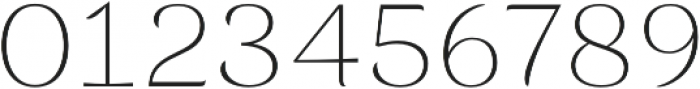 Rossanova Thin otf (100) Font OTHER CHARS