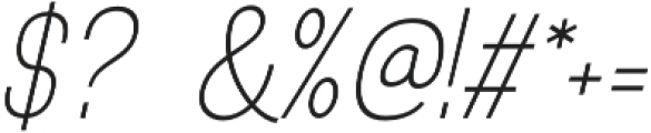 Rotrude otf (300) Font OTHER CHARS