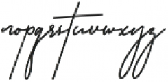 Rottles Script otf (400) Font LOWERCASE
