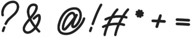 Rottordam otf (400) Font OTHER CHARS