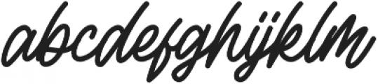 Rottordam otf (400) Font LOWERCASE