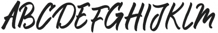 Rouged otf (400) Font UPPERCASE