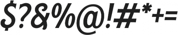 Rough Cut Italic Clean otf (400) Font OTHER CHARS