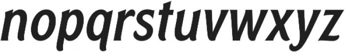 Rough Cut Italic Clean otf (400) Font LOWERCASE