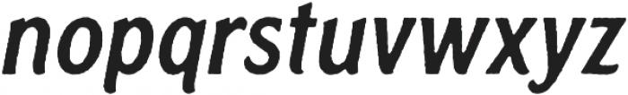 Rough Cut Italic Rough otf (400) Font LOWERCASE