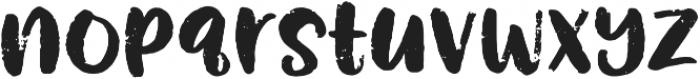 Rough Puff otf (400) Font LOWERCASE