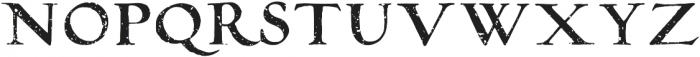 RoughAntiquaAllCaps Distressed otf (400) Font LOWERCASE