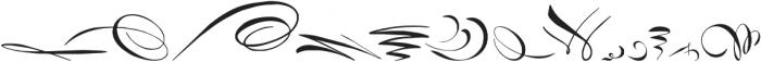 RoughFleuronsCalligraphic Regular ttf (400) Font UPPERCASE