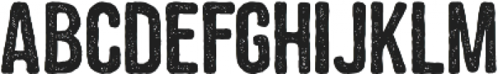 Roughland otf (400) Font LOWERCASE