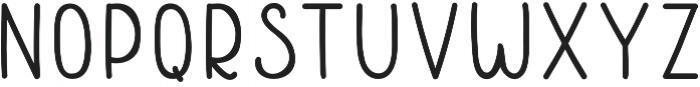 Roundaries otf (700) Font UPPERCASE