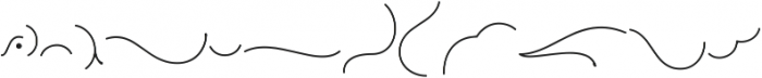 Roundless Ornament ttf (400) Font LOWERCASE