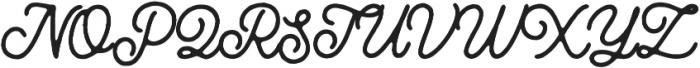 Routen Inky otf (400) Font UPPERCASE