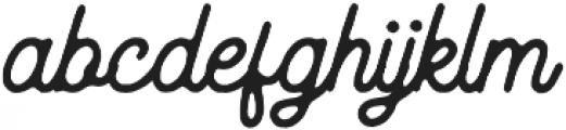 Routen Inky otf (400) Font LOWERCASE