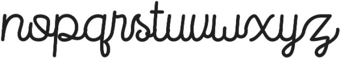 Routerline otf (400) Font LOWERCASE