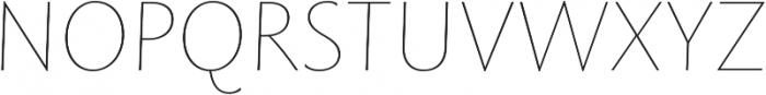 Rowton Sans FY Hairline Italic otf (100) Font UPPERCASE