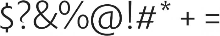 Rowton Sans FY Light otf (300) Font OTHER CHARS