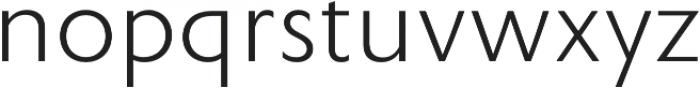 Rowton Sans FY Light otf (300) Font LOWERCASE