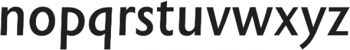 Rowton Sans FY Medium Italic otf (500) Font LOWERCASE