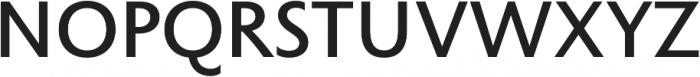 Rowton Sans FY Medium otf (500) Font UPPERCASE