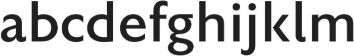 Rowton Sans FY Medium otf (500) Font LOWERCASE