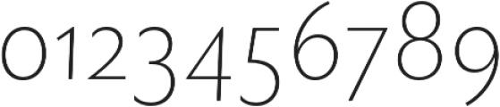 Rowton Sans FY Thin Italic otf (100) Font OTHER CHARS