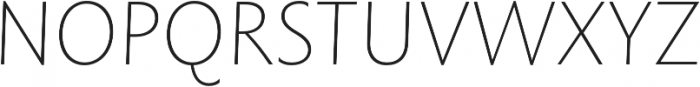 Rowton Sans FY Thin Italic otf (100) Font UPPERCASE
