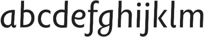 Rowton Sans FY otf (400) Font LOWERCASE