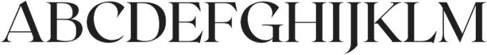 Roxborough CF Medium otf (500) Font UPPERCASE