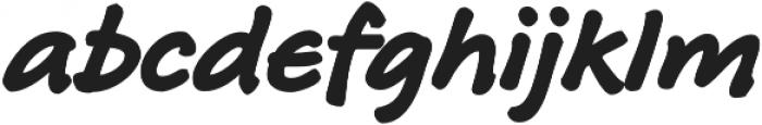 RoyHand RP Bold otf (700) Font LOWERCASE