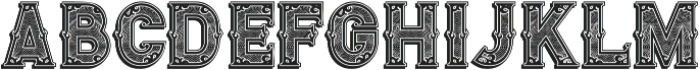 Royal Guilloche Shadow otf (400) Font LOWERCASE