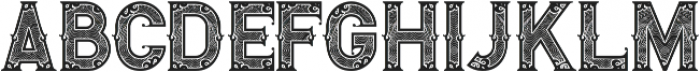 Royal Guilloche otf (400) Font UPPERCASE