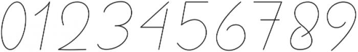 Royal Haster Monoline ttf (400) Font OTHER CHARS