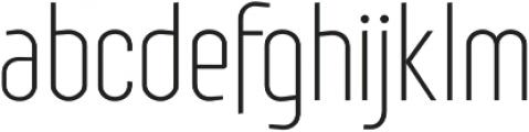 Royal Street Light otf (300) Font LOWERCASE