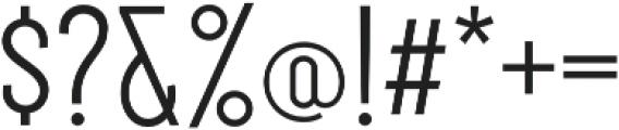 Royal Street Medium otf (500) Font OTHER CHARS