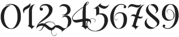 RoyalBavarian Regular otf (400) Font OTHER CHARS