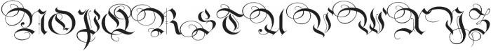RoyalBavarian Regular otf (400) Font UPPERCASE