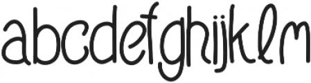 RoyalGoblin ttf (400) Font LOWERCASE