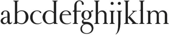 RoyalRomain otf (400) Font LOWERCASE