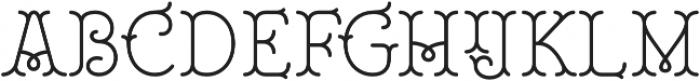 Royale 35 otf (400) Font UPPERCASE