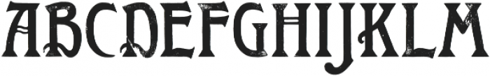 Roycroft Distressed otf (400) Font LOWERCASE