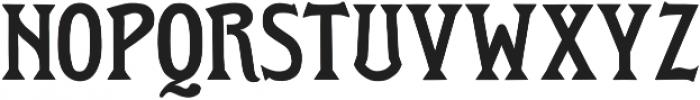 Roycroft otf (400) Font UPPERCASE