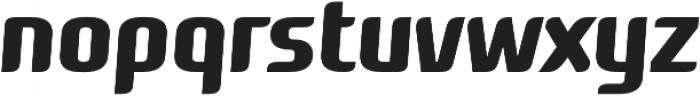 Roz Medium Italic otf (500) Font LOWERCASE