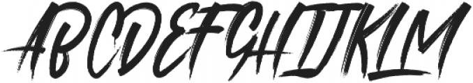 roastink Regular otf (400) Font UPPERCASE