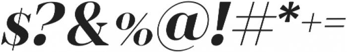 romina bold italic otf (700) Font OTHER CHARS