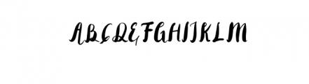 Rohman Grunge.otf Font UPPERCASE